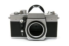 Vintage old film camera Royalty Free Stock Photo