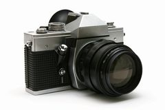 Vintage old film camera Royalty Free Stock Photos