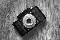 Vintage old film photo camera Stock Photography