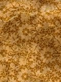 Vintage old floral house wall paper Stock Photography