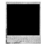 Vintage Old Grunge Polaroid Film Blank royalty free stock images