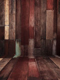 Vintage old and grunge wood panels background Stock Image