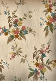 Vintage old house wall paper Royalty Free Stock Images