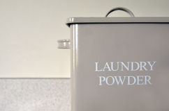 Vintage old Laundry powder box Royalty Free Stock Photos