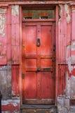 Vintage old London door Stock Photos
