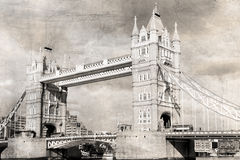 Vintage Old London Royalty Free Stock Images