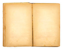 Vintage old open book Royalty Free Stock Image