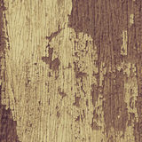 Vintage Old painted cracked peeling wood texture Stock Photography
