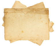 Vintage Old Paper Texture Royalty Free Stock Photos