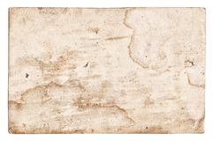 Vintage old paper texture isolated Royalty Free Stock Photos