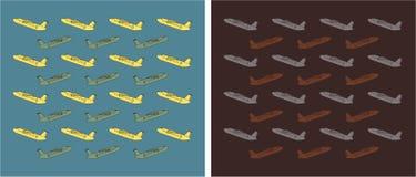Vintage Old Passenger turboprop Airplane Royalty Free Stock Images