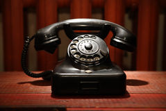 Vintage old phone Stock Image