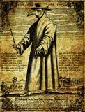 Vintage Plague doctor illustration
