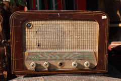 Vintage old radio royalty free stock image