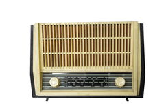 Vintage old radio Stock Image