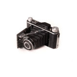 Vintage old retro camera Stock Images