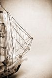 Vintage old ship Royalty Free Stock Image