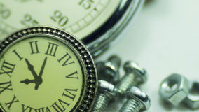 Vintage old stopwatch Stock Image