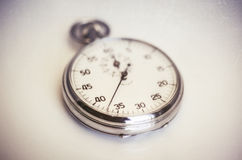 Vintage old stopwatch Stock Images