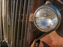 Vintage Old Truck Closeup Stock Photography