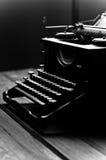 Vintage old typewriter, selective focus. Royalty Free Stock Photos