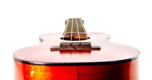 Vintage old ukulele Stock Images