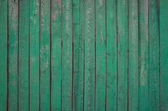 Vintage old wood green painted texture background Stock Photo