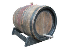 Vintage old wooden barrel Stock Image