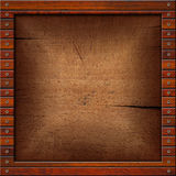 Vintage Old Wooden Frame Royalty Free Stock Photo