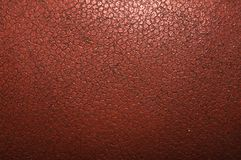Vintage old worn leather brown background Stock Images
