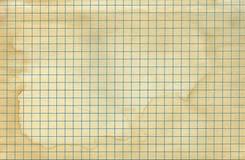 Vintage old worn math paper Stock Image