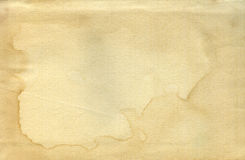 Vintage old worn paper. Blank background. Closeup royalty free stock photos