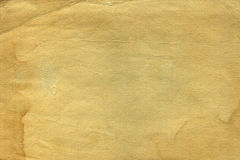Vintage old worn paper. Blank background. Closeup stock images