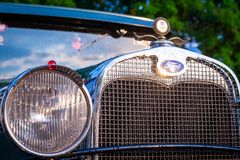 Vintage Oldtimer Ford Model A. Maribor, Slovenia - May 12 2018: Vintage Oldtimer Ford Model A on display at public gathering of owners and fans of classic Royalty Free Stock Image