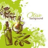 Vintage olive background Royalty Free Stock Photo