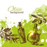 Vintage olive background Royalty Free Stock Images