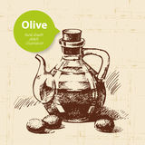 Vintage olive background Royalty Free Stock Photo