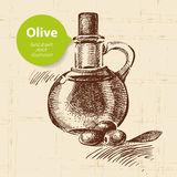 Vintage olive background Stock Photography