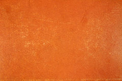 Vintage orange paper texture with scuffs. Abstract background Stock Image