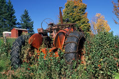 Abandoned Tractor Royalty Free Stock Photography