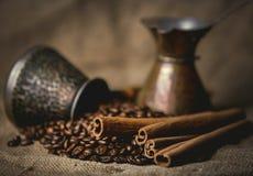 Vintage oriental coffee pot Royalty Free Stock Photo