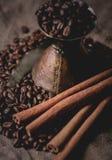 Vintage oriental coffee pot Stock Photo