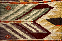 Vintage,   oriental, colorful handmade traditional woolen rug 8 Stock Photography