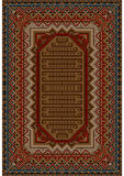 Vintage oriental rug with beige and brown shades Stock Photos