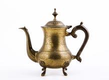 Vintage oriental teapot Royalty Free Stock Photo
