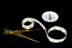 Vintage Orientation Tools Royalty Free Stock Image