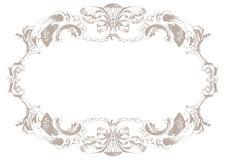 Vintage ornament background. Vector decor background Royalty Free Stock Photo