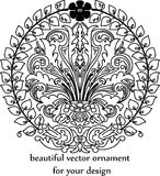 Vintage ornament in baroque style Royalty Free Stock Image