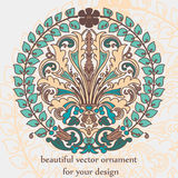 Vintage ornament in baroque style Royalty Free Stock Images