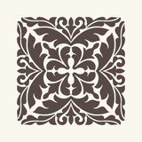Vintage ornament for design. Royalty Free Stock Photography